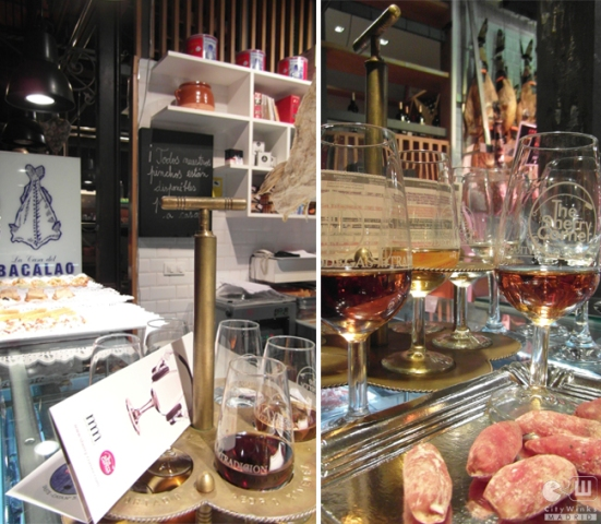 CityWInks Madrid, The Sherry Corner, Mercado San Miguel, Tapas