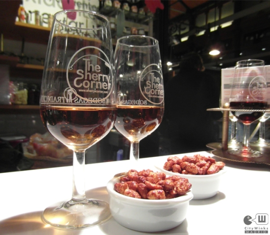 CityWinks Madrid, The Sherry Corner, Mercado de San Miguel