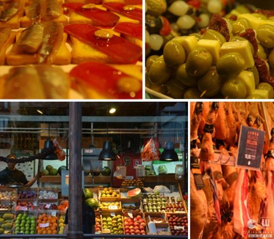 CityWinks Madrid, Mercado de San Miguel, Tapas