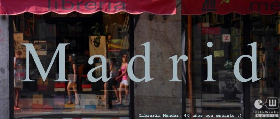 CityWinks Madrid- Libreria Mendez 2013