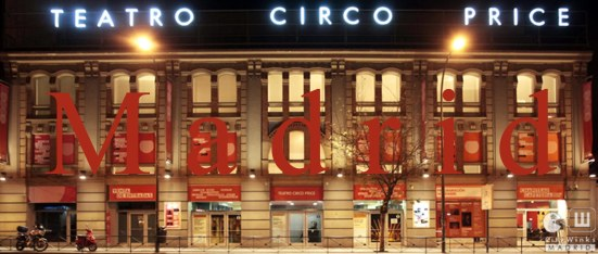 CityWinks Madrid - Teatro Circo Price 2013