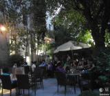 Terraza cultural en el Jardín de Goethe enMadrid