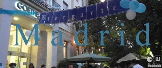 CityWinks Madrid-Terraza Goethe 2013