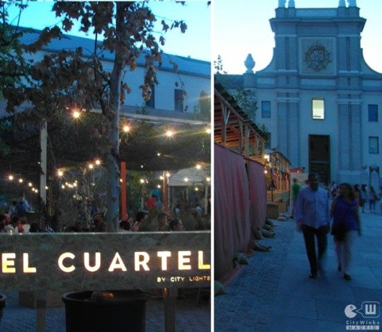 Conde Duque_El Cuartel_City Lights_Terraza_CityWinks_Madrid 2014