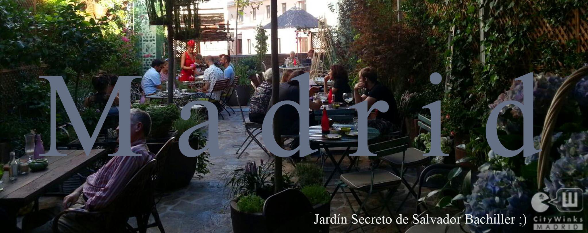 Viaje al jard n secreto y sal n de t vip lounge de for Salvador bachiller jardin secreto