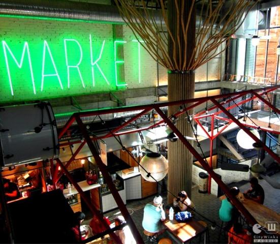 Mercado San Ildefonso_CityWinks Madrid_Arbol