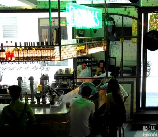 Mercado San Ildefonso_CityWinks Madrid_Barra