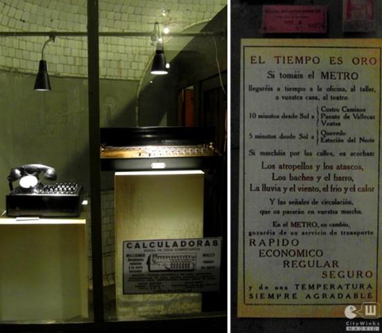 CityWinks Madrid_Estacion Fantasma_Chamberi_Metro_Madrid_El Tiempo es Oro