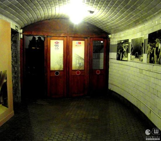 CityWinks Madrid_Estacion Fantasma_Chamberi_Metro_Madrid_Entrada