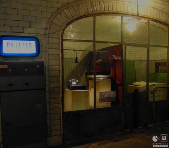 CityWinks Madrid_Estacion Fantasma_Chamberi_Metro_Madrid_Taquillas_Acceso_Maquina Venta Billetes