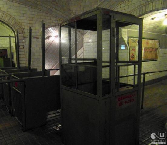 CityWinks Madrid_Estacion Fantasma_Chamberi_Metro_Madrid_Tornos