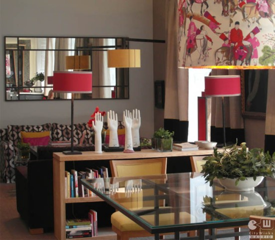 CityWinks Madrid_Casa Decor 2015_salon rojo