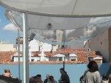 La azotea escondida sobre los tejados de Malasaña: Casa Decor2015