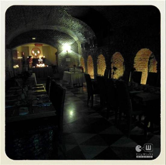 Café de Oriente_ Madrid_CityWinks_Mesa Acción de Gracias_Bóvedas